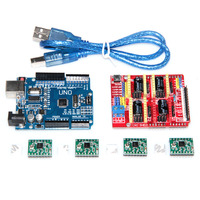 Cnc Shield V3 Engraving Machine 3D Printer 4pcs A4988 Driver Expansion Board UNO R3 With