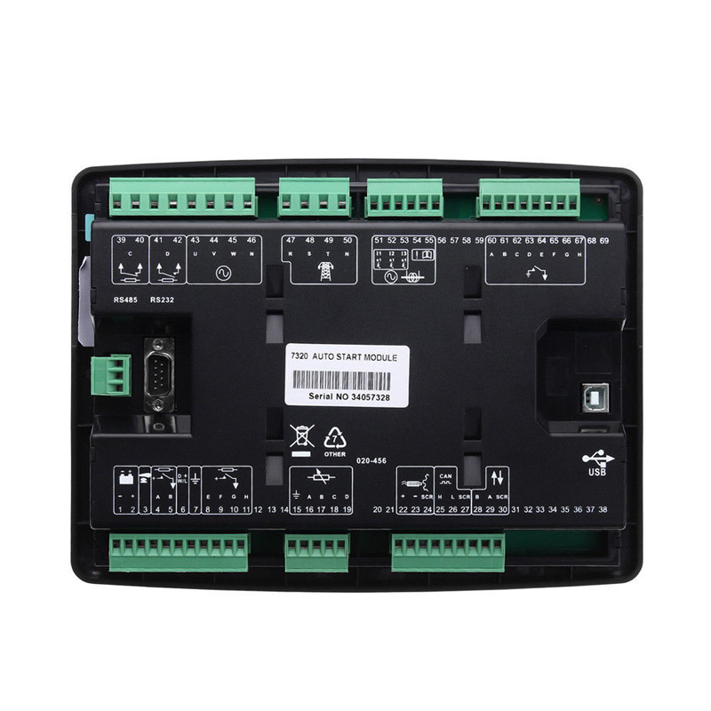 1Pc Generator Electronics Auto Start Controller with Screen DSE7320 CLH@81Pc Generator Electronics Auto Start Controller with Screen DSE7320 CLH@8