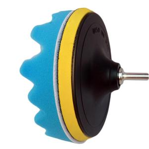 Image 5 - 19pcs 80mm Car Polishing Sponge Pad Set With Drill Adapter Tool Kit Car Tool For Car Waxing Auto Buffing Pad Wheel Kit