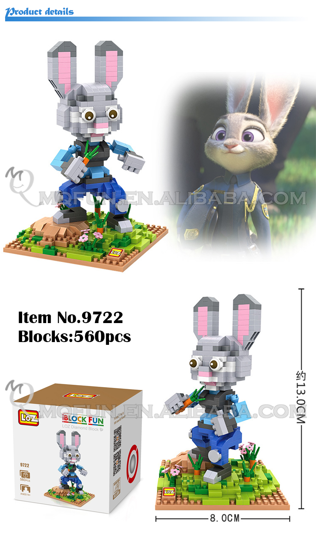 Mini Qute Loz Anime Doraemon Finding Neno Zootopia Kung Fu Panda Nano Block Nanoblock Po Getsubject Aeproduct
