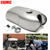 Vintage 9 Liters Motorcycle Fuel Gas Tank For Honda CG125 CG125S CG250 Cafe Racer