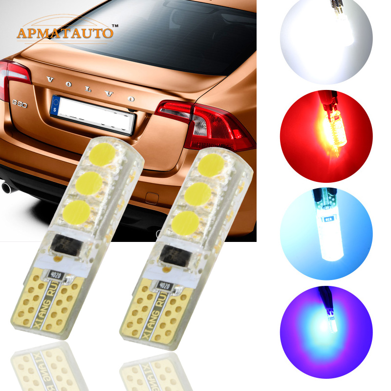 Pair T10 T16 W5W 12V LED Clearance Light Marker Lamp Bulb Canbus For  - Car Lights