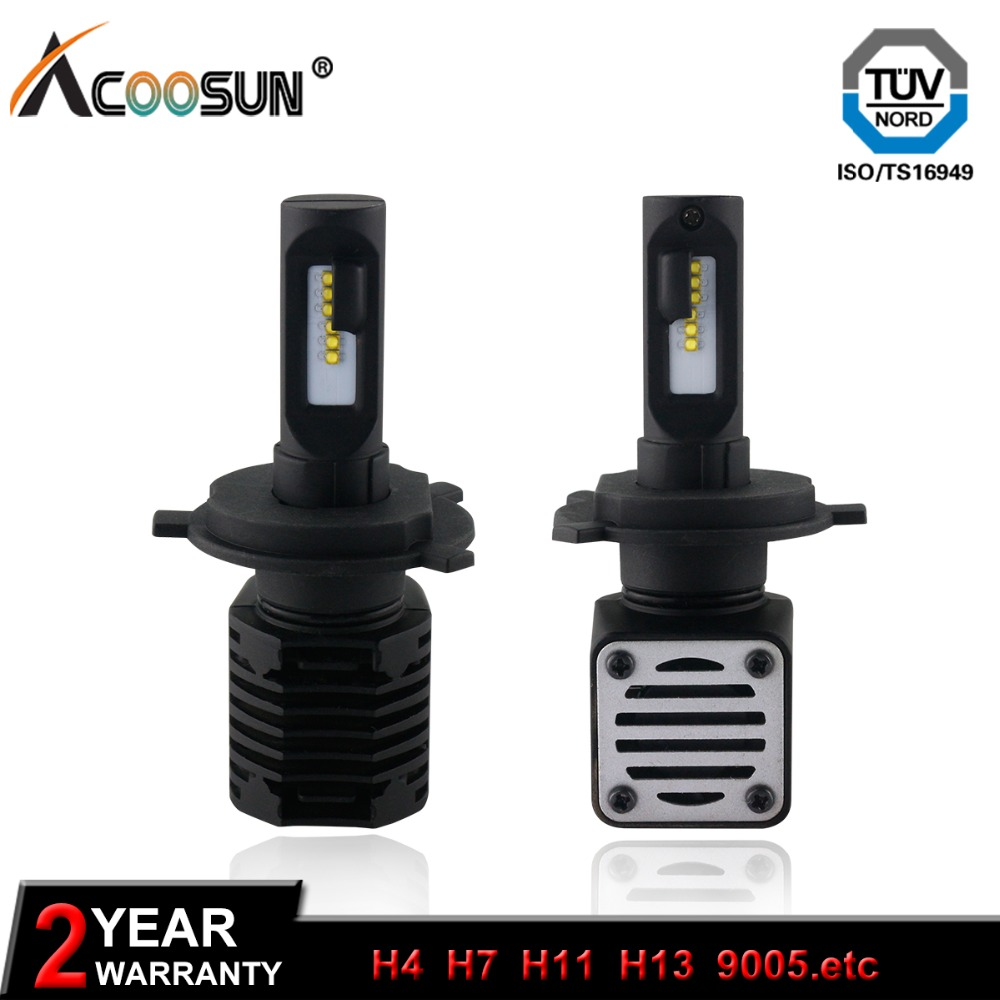 10000LM 80W Car LED Lamp Headlight Bulb Auto Fog Light 12V 6000K 3000K H7 H4 9012