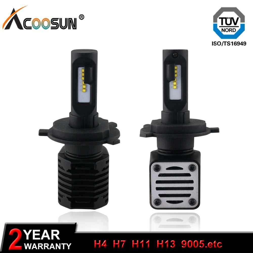 10000LM 80W Car LED Lamp Headlight Bulb Auto Fog Light 12V 6000K 3000K H7 H4 9012 9005 9006 5202 H11 H13 HB3 HB4 Auto LED Light