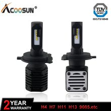 10000LM 80W Car LED Lamp Headlight Bulb Auto Fog Light 12V 6000K 3000K H7 H4 9012 9005 9006 5202 H11 H13 HB3 HB4 Auto LED Light(China)