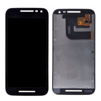 Cep telefonları ve Telekomünikasyon Ürünleri'ten Cep Telefonu LCD'leri'de Motorola MOTO G3 G 3rd Gen xt1544 xt1550 xt1540 XT1541 XT1543 lcd ekran Ile dokunmatik ekranlı sayısallaştırıcı grup Ücretsiz Kargo