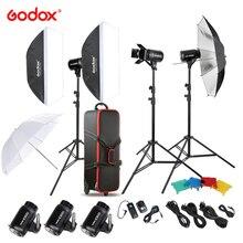 Godox E300-D 300W фотография решения студия Speedlite вспышка-Стробоскоп со вспышкой триггер/светильник стенд/софтбокса/двери сарая