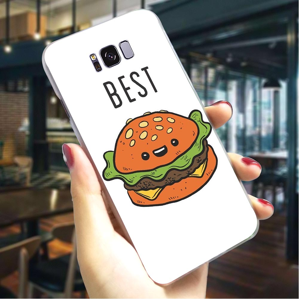 Best Friends Girl Hard Cover for Samsung Galaxy A8 Plus 2018 Ultra Thin Phone Case A10 A30 A40 A50 A70