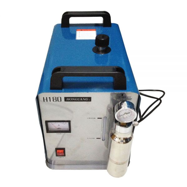 300W Portable Oxygen Hydrogen Flame Generator Acrylic Polishing Machine 95L 1 Gas Torch free