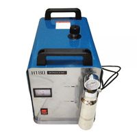 300W Portable Oxygen Hydrogen Flame Generator Acrylic Polishing Machine, 95L 1 Gas Torch free