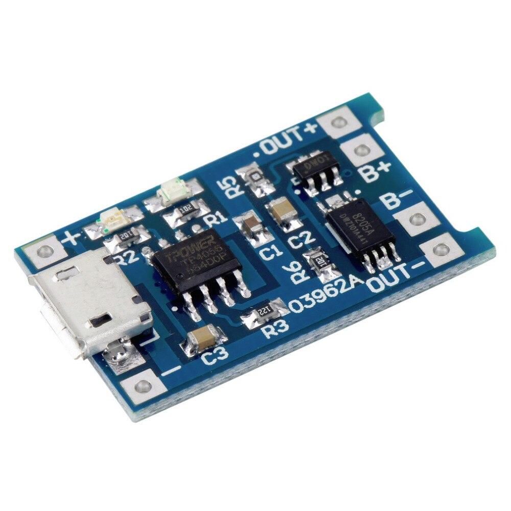 5pcs 1s 37v 3a Li Ion Bms Pcm Battery Protection Board For 4v Pcb Circuit Croons 74v 18650 Smart Electronics 5v Micro Usb 1a Lithium Ba