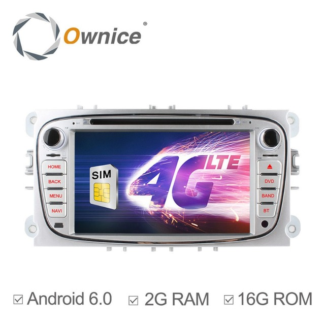 Ownice C500 Android 6.0 Octa Core 8 DVD Car Player for Ford FOCUS Mondeo S-MAX Connect 2 2008-2011 With Radio GPS 4G LTE Network