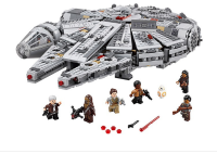 New Force Awakens Building Blocks bricks fit legoings star wars Millennium Falcon figures fit 10467 kid boy gift diy Toys