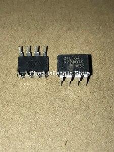Image 1 - 50 قطعة ~ 100 قطعة/الوحدة PIC24LC64 I/P 24LC64 DIP8 جديد الأصلي