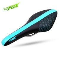 BATFOX Full Carbon Cycling Saddle Men Lightweight Bicycle Saddle Outdoor Anti Wear Sport Bike Front Seat