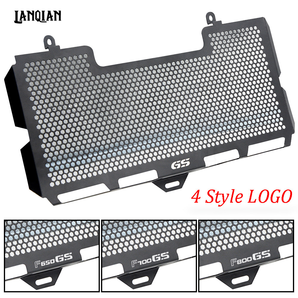 CNC For BMW F650GS F700GS F800GS F800R Motorcycle Stainless Steel Radiator Guard Protector Grille Grill Cover F650 F700 F800 GS arashi motorcycle radiator grille protective cover grill guard protector for 2008 2009 2010 2011 honda cbr1000rr cbr 1000 rr