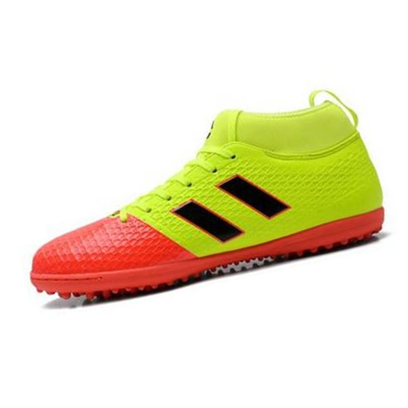 Indoor futsal soccer boots mens with high ankle professional soccer cleats turf original shoes adults football training sneaker tiebao e1018c professional kids indoor football boots turf racing soccer boots training football shoes