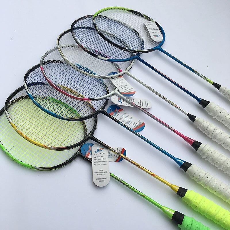 1 pc ZARSIA divers types léger 3U 4U raquette de Badminton 100% carbone raquette de badminton livraison gratuite
