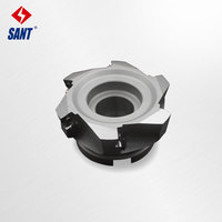Indexable milling cutter High feed milling cutter insert SDMT12 disc XK01