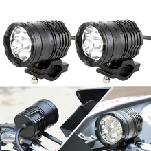 FADUIES Пара мотоциклетный противотуманный светильник s Для Мотоцикла BMW светодиодный вспомогательный противотуманный светильник дальнего света для BMW R1200GS/ADV K1600 R1200GS
