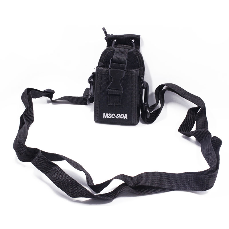 MSC-20A Nylon Walkie Talkie Carry Case Holder For Two Way Radio UV-5R Series UV-82 BF-666S 777S 888S Baofeng Radio Case Holster