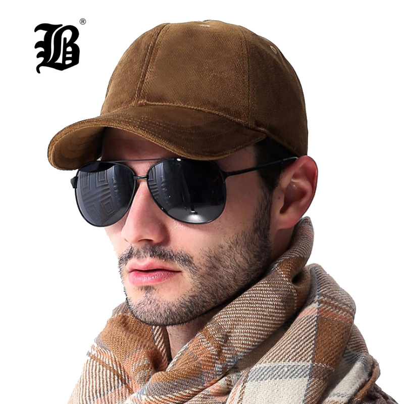 [FLB] 100% Cotton Autumn And Winter   Baseball     Cap   Men Sport Hats Casual hats Solid Color Snapback Fall hat   caps   A00515