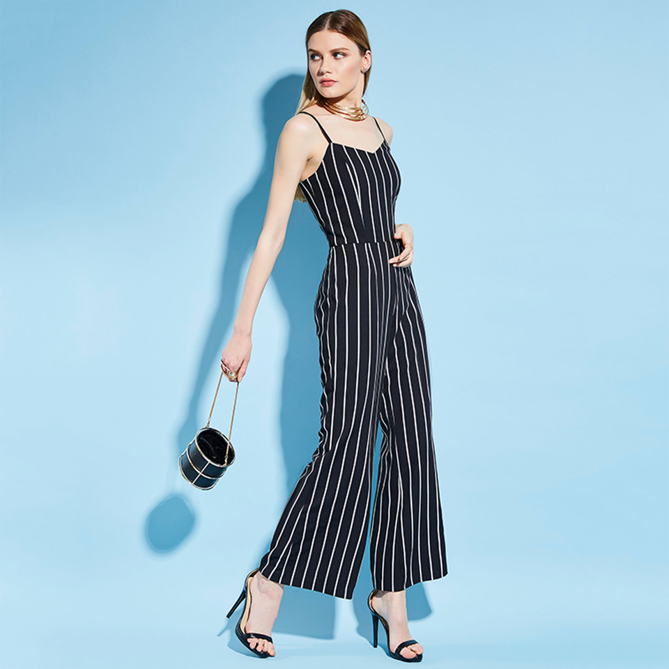 HTB1lefDfS7PL1JjSZFHq6AciXXaQ - Women Stripe Rompers Long Pants Jumpsuit JKP390