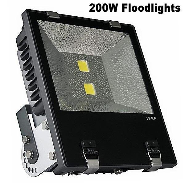 Высокое качество Алюминий 22000lm промышленного 85-265 В Светодиодный прожектор 200 Вт IP65 Водонепроницаемый Светодиодные прожекторы Открытый ...