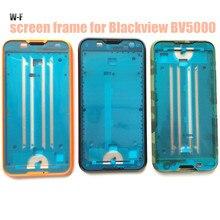 Hacrin для Blackview BV5000 Экран дисплея рамка Пластиковые Ближний Рамка Тонкий обратно жесткий защитный чехол для Blackview BV5000
