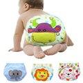 Cobertura Fralda de Pano Reutilizáveis Fraldas Laváveis de algodão Do Bebê Crianças Swim Nappy Fraldas Do Bebê Calças de Treinamento Do Bebê 3 Tamanho
