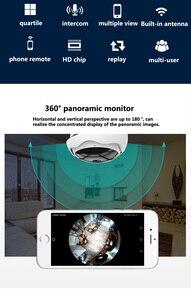 Image 4 - Caméra panoramique sans fil 5 mp XM 360 degrés