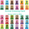 Animal Crossing Karte Amiibo Karte Arbeit für NS Spiele Serie 1 (031 zu 060)-in Zutrittskontrollkarten aus Sicherheit und Schutz bei