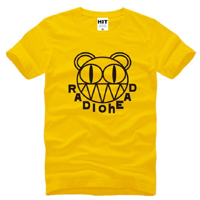 342c8b6bb628 New Designer Rock Radiohead T Shirt Men Cotton Short Sleeve Punk Radiohead  Printed men T-shirt Alternative Music Male Tops Tees