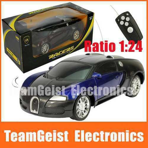 new bugatti veyron 1:24 2ch télécommande modèles de voiture