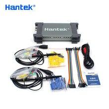 Osciloscópio digital, osciloscópio digital de hantek oficial 6022bl pc 2 canais digitais de 20mhz de largura de banda 48msa/s taxa de amostra de 16 canais lógica analisador