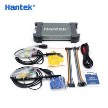 Hantek osciloscopio USB oficial 6022BL, 2 canales digitales, 20MHz de ancho de banda, 48MSa/s, Frecuencia de muestreo, 16 canales, analizador lógico