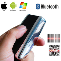 Portable Pocket Wireless 2D Scanner QR Code Reader Bluetooth 2D Barcode Scanner For Android IOS Scanner Barcod Handheld