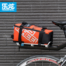 ROSWHEEL Bicycle Rack Trunk Bags Cycling Seat Pannier With Reflective logo Bike Mountain Road Bicycle carry bag