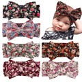 Baby Kids Girl Toddler Infant Flower Floral Hairband Turban Rabbit Bowknot Baby Headband Headwear Hair Band Accessories
