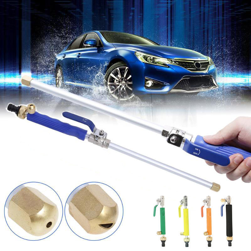 USEU High Pressure Water Hose Attachment Nozzle Glass Cleaner Jet Car Washer Hydro Jet Power Washer Wand Extendable Sprayer