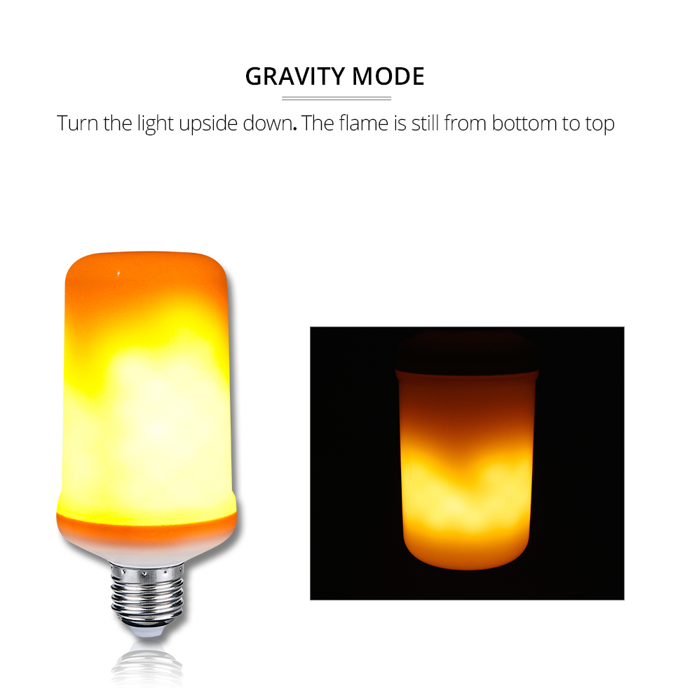 LED Flame lamps (6)