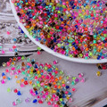 18 colors 4mm 300pcs Czech Seed Spacer beads Crystal glass beads For jewelry handmade DIY Free shipping BL002-4XX
