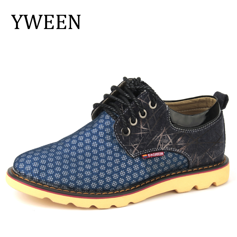 YWEEN 2017 New Men s Casual Shoes Summer Air Mesh Style Man Big Size Shoes For