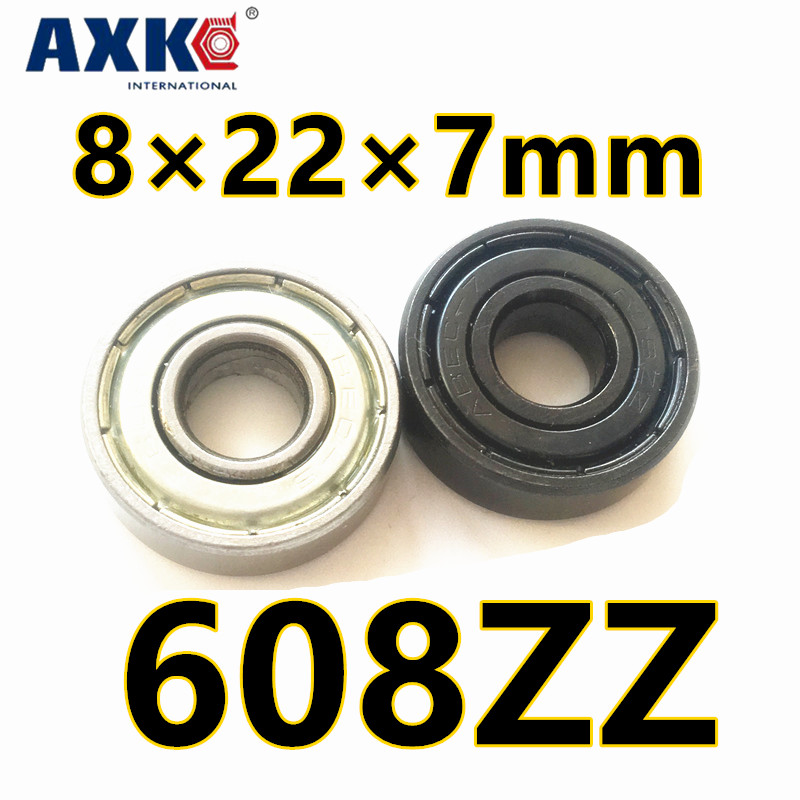 2018 Axk 608 Free Shipping 608zz 608z Bearing Abec7 8x22x7 Mm 8*22*7 Miniature 608 Zz Longboard Skateboard Ball Bearings 608-2z
