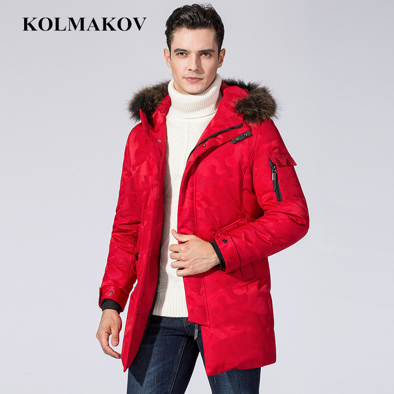 New Arrival   Down     Coats   Mens Winter Homme Parkas Camouflage Fashion   Down   Jackets Male Thick Duck   Down   Hooded   Coat   Plus Size M-3XL