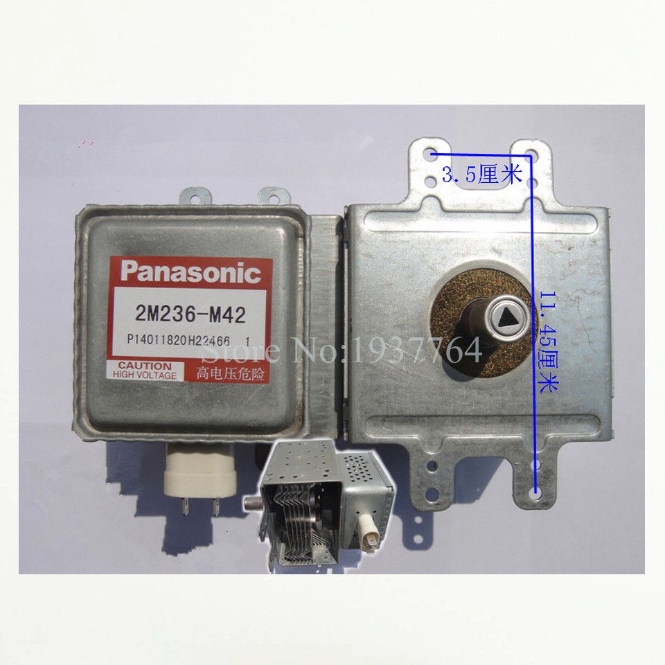 Оригинальная Микроволновая печь магнетрон 2M236-M42 для микроволновых частей Panasonic