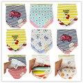 3pc/lot 100% cotton baby clothing girls baby bibs towel bandanas chiscarf ldren cravat infant towel atrk0001