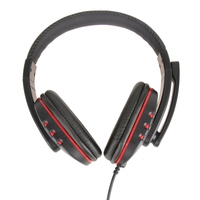 USB 2 0 HIFI Stereo Gaming Headset Wired Plug And Play Earphone With Microphone Noise Cancelling