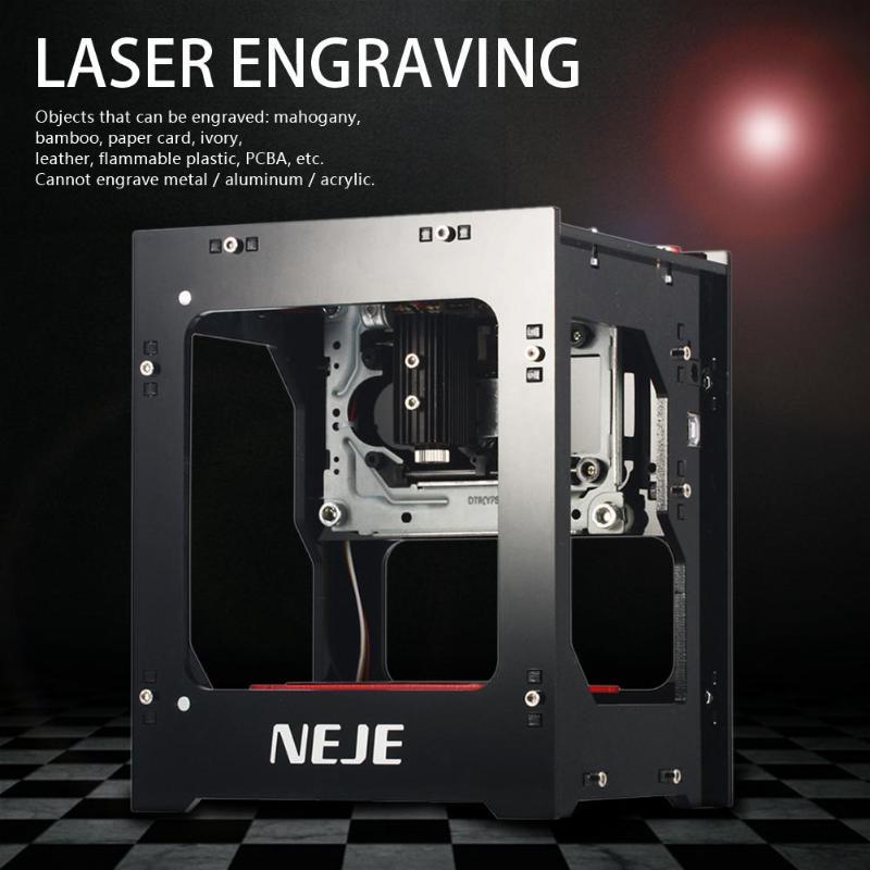 NEJE DK 8 KZ 3D 1000 мВт USB лазерный гравер принтер автоматическая гравировальная машина 3D беспроводной bluetooth принтер - 5