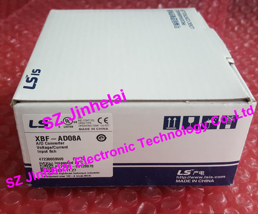 100% New and original  XBF-AD08A  LS PLC 8 channel analog input, A/D Converter 100% new and original xbf tc04s ls lg plc 4 channel thermocouple input